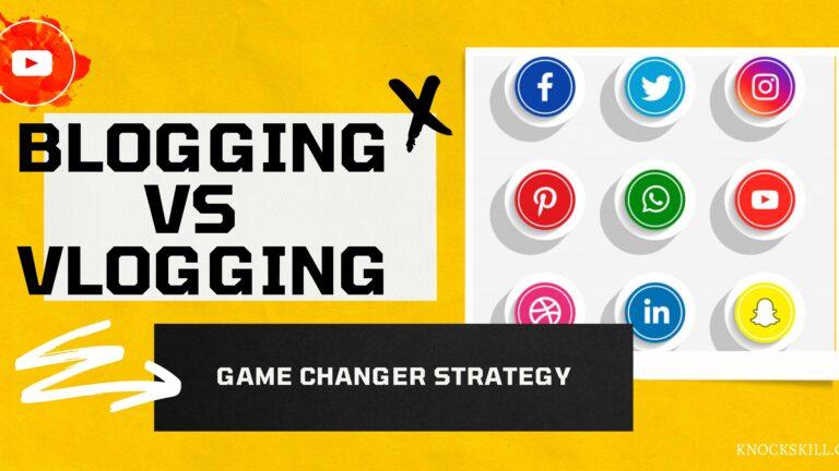 Blogging vs vlogging difference
