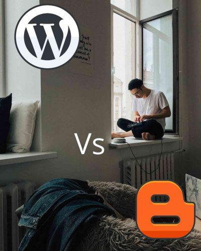 wordpress vs blogger for money making